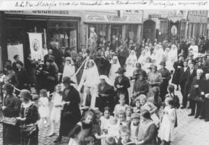 1925 Processie Kevelaer