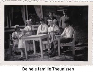 De hele familie Theunissen