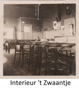 Interieur 't Zwaantje