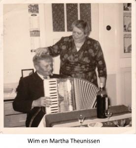 Wim en Martha Theunissen