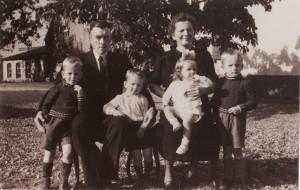 Familie Albert Broekman 1947