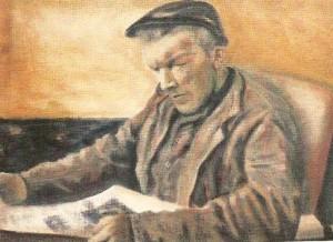 Portret Albert Broekman